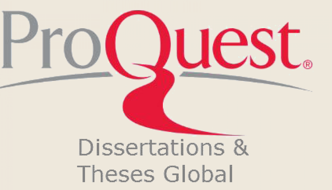 proquest and dissertations Proquest dissertations & theses global the dissertations and theses database gives you full text access to over 3 million dissertations and theses from schools and universities around the world, including walden dissertations.
