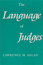 Solan, Lawrence M – The language of judges