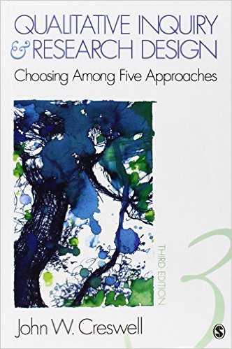 Creswell, John W – Qualitative inquiry & research design: choosing among five approaches.