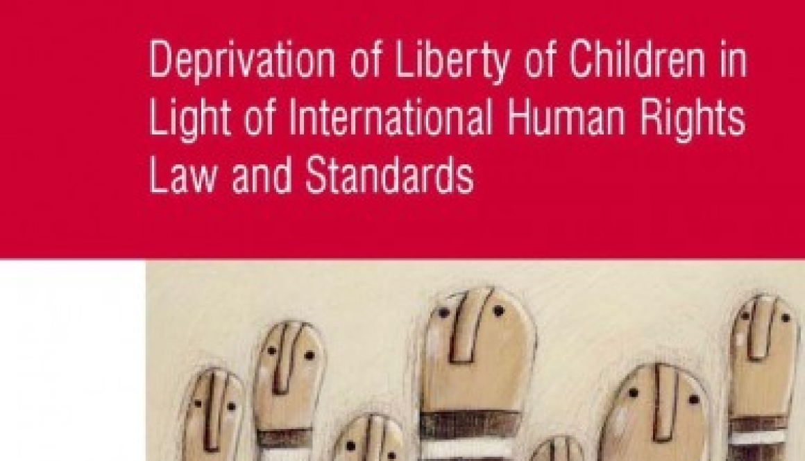 Liefaard, Ton- Deprivation of liberty of children in light of international human rights law and standards