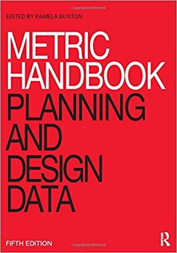 Buxton, Pamela [ed.] – Metric handbook: planning and design data.