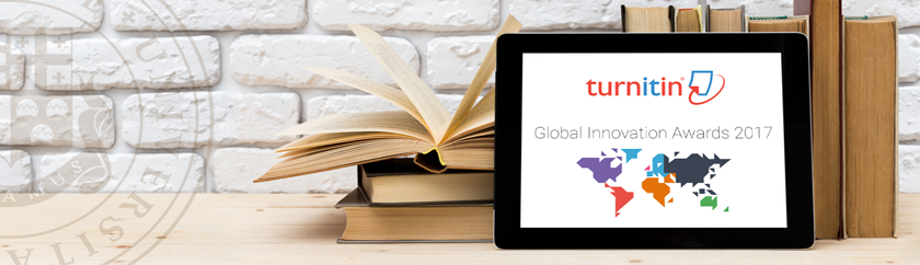 Ilia State University is a winner of the TURNITIN global innovation awards in the Europe region
