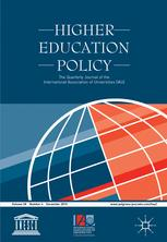Higher education policy vol.30