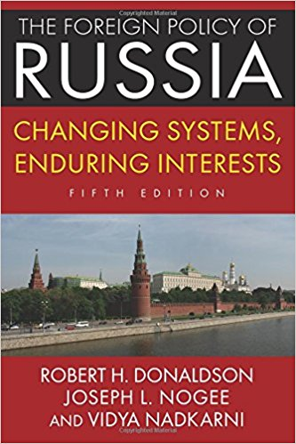 The foreign policy of Russia: changings system, enduring interests