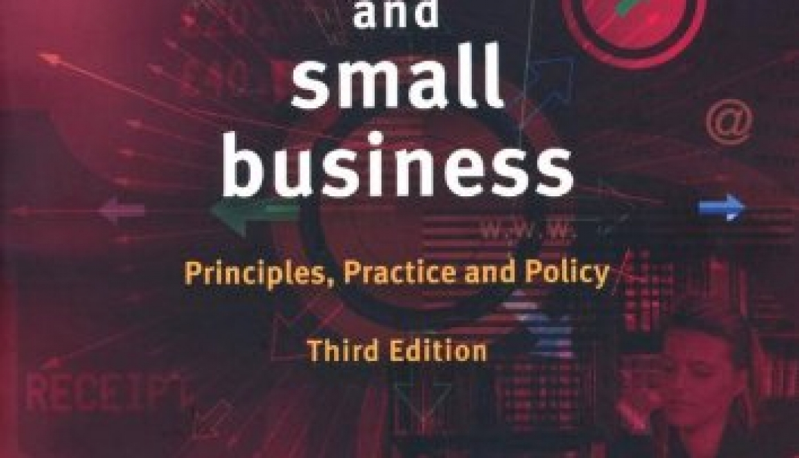 Enterprise and Small Business: Principles, Practice and Policy.