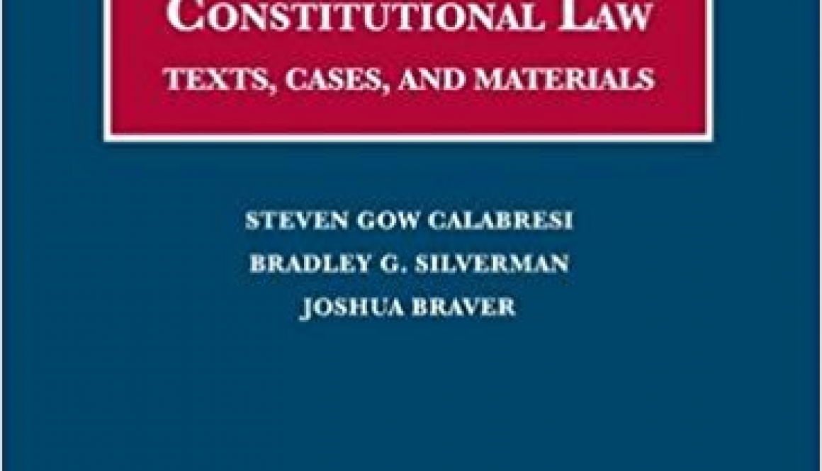 document appendix and case supplement to the U.S. Constitution and comparative constitutional law: texts, cases, and materials.